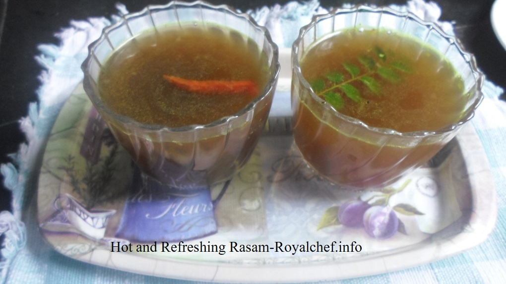 Refreshing Rasam