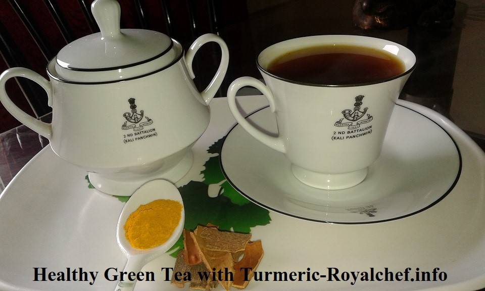 Green Tea with Turmeric