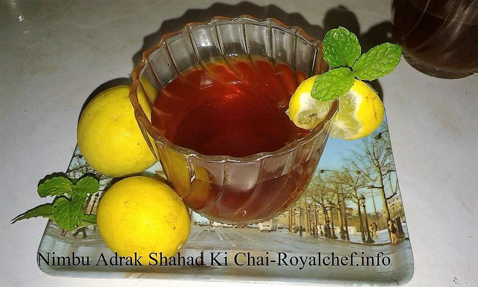 Limboo Ale and Madhacha Chaha