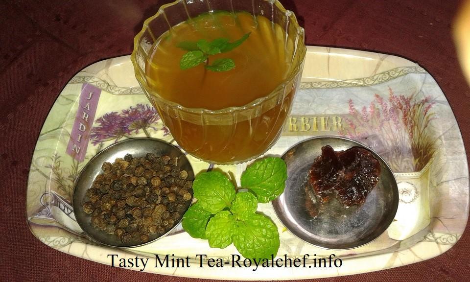 Tasty Pudina Tea