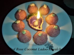 Gulab Essence Nariyal Ladoo