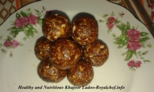Healthy Dates Ladoo