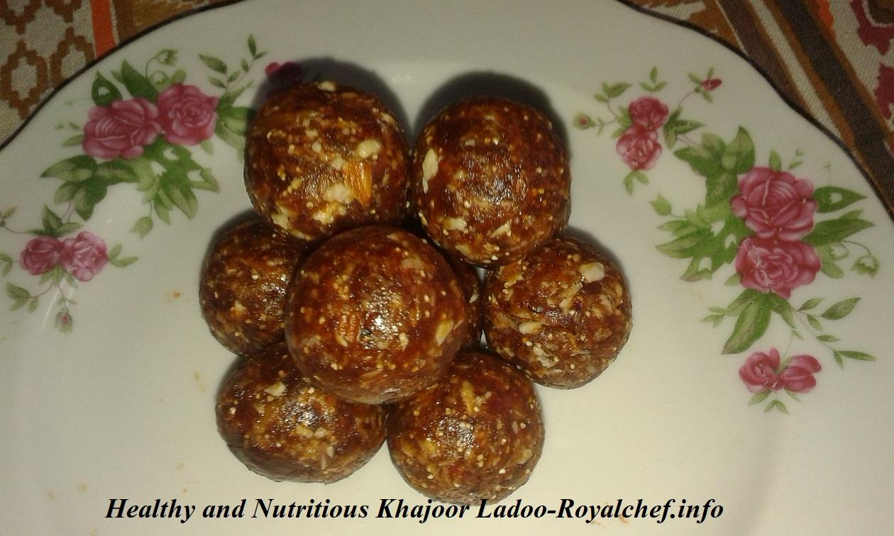 Healthy Dates Ladoo