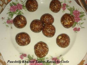 Nutritious Khajoor Ladoo