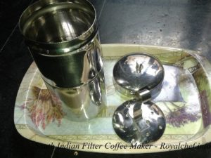 South Indian Filter Coffee Maker Machine