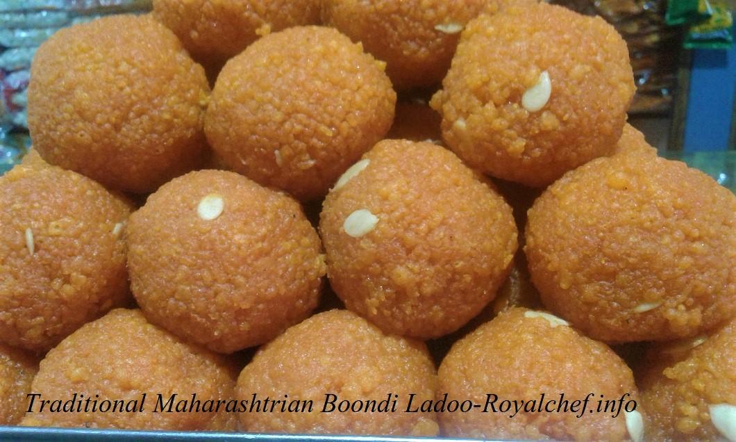 Maharashtrian Boondi Ladoo