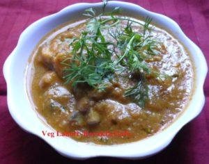 Lahori Vegetable