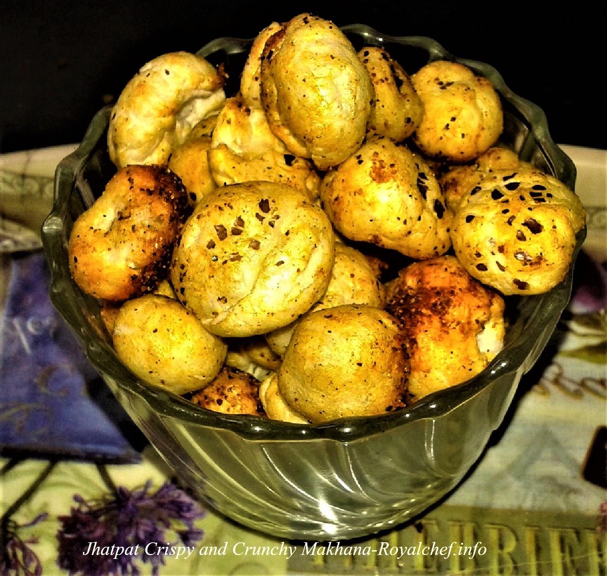 Crispy and Crunchy Makhana