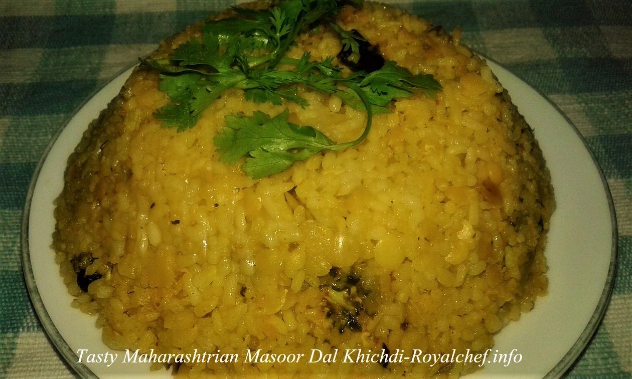 Masoor Dal Khichdi