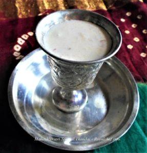 Mahashivratri Thandai