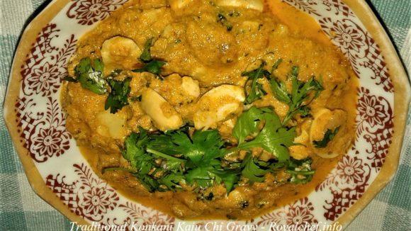 Konkani Kaju Chi Gravy