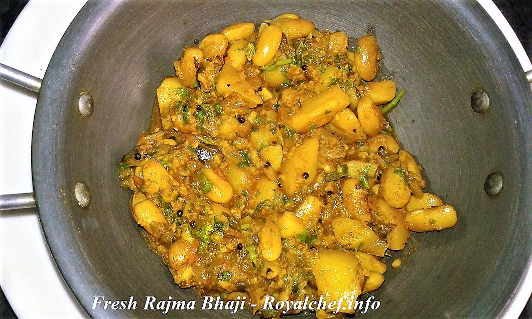 Fresh Beans Rajma Bhaji