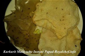 Maidyache Instant Papad
