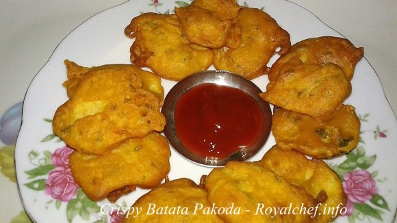 Crispy Potato Pakoda