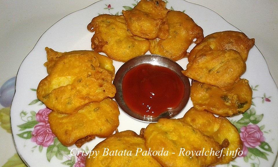 Crispy Potato Pakoda