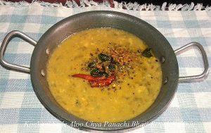 Aloo Chya Panachi Bhaji