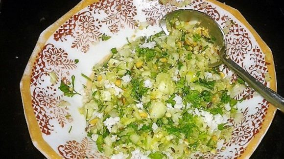 Chilled Khamang Kakdi Salad