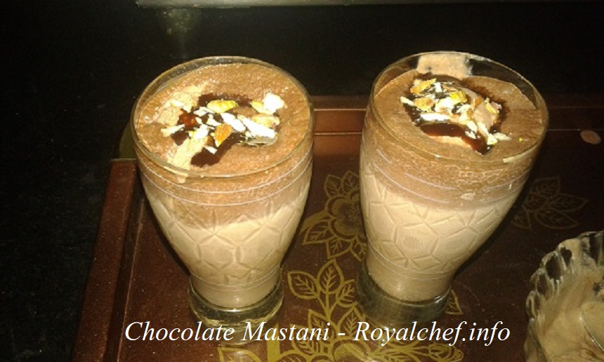 chocolate mastani ice cream
