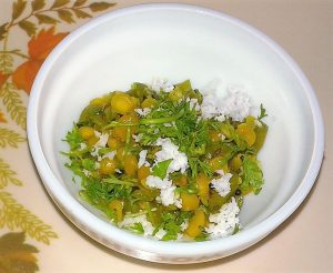 Maharashtrian Style Chana Dal Ghosali Bhaji Recipe in Marathi 2