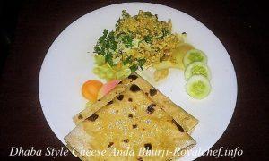 Dhaba Style Cheese Egg Bhurji