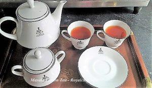 Masala Lemon Tea