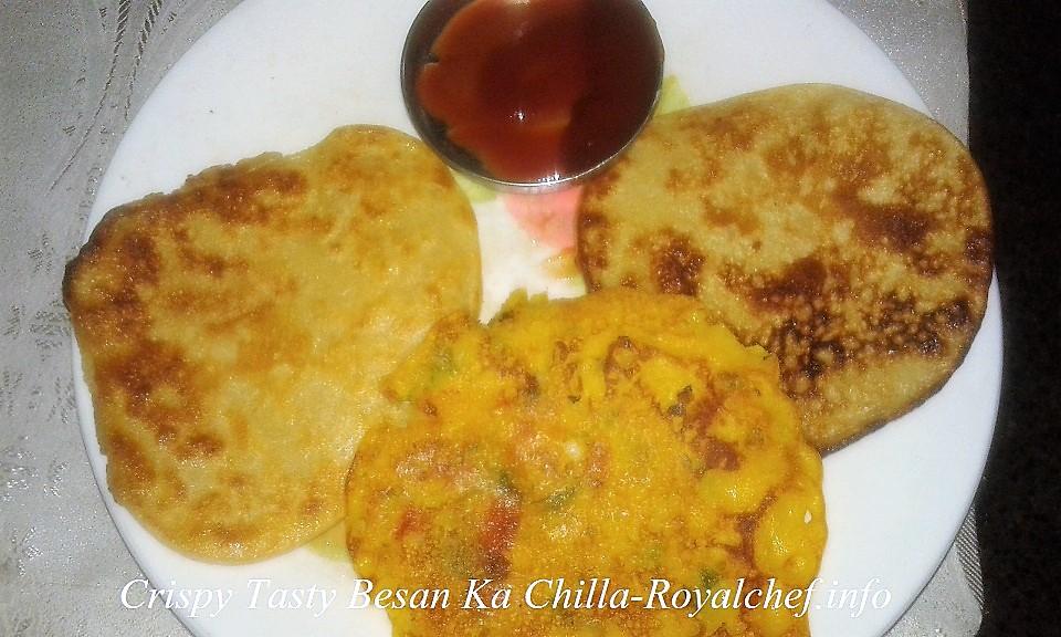 Tasty Besan Ka Chilla
