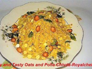 Oats and Poha Chivda