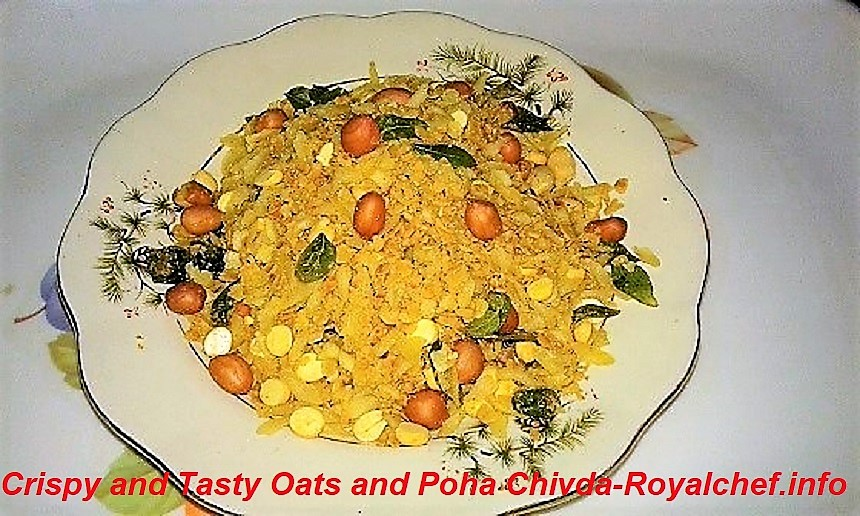 Oats and Poha Chivda