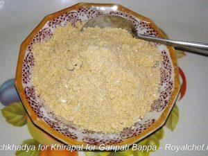 Panchkhadya for Khirapat for Ganesha
