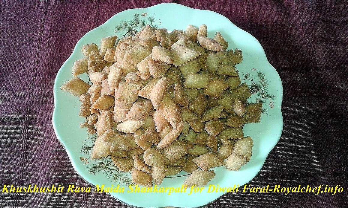 Shankarpali for Diwali Faral