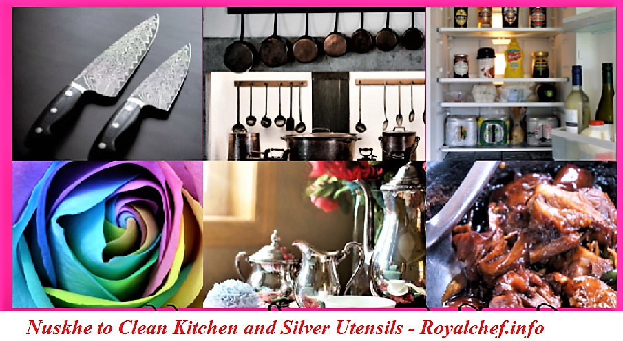 Home Remedies to Clean Kitchen and Silver Utensils