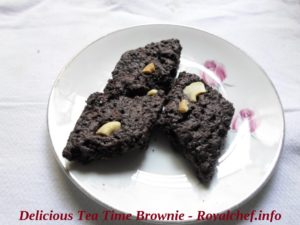 Tea Time Brownie