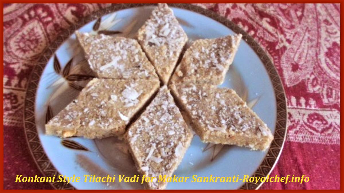 Konkani Style Tilachi Vadi