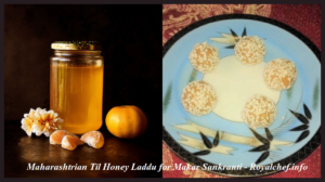 Maharashtrian Til Honey Ladoo for Makar Sankranti