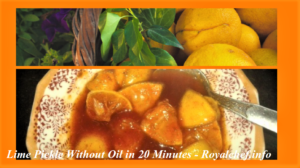 Make Instant Lime Pickle Without Oil in 20 Minutes