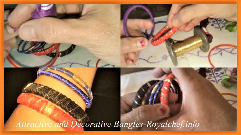 How to Make Attractive and Decorative Bangles