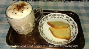 How to Make Iced Cold Coffee in 5 Minutes