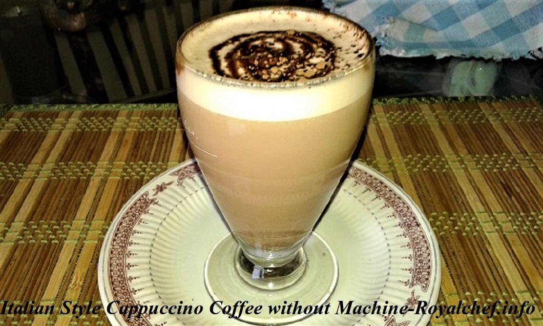 Cappuccino Coffee without Machine