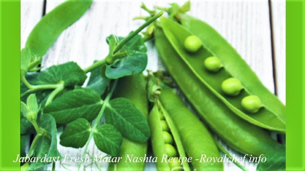 Green Peas Breakfast Recipe in Marathi