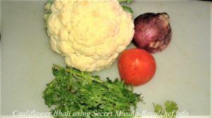 Restaurant Style Cauliflower Bhaji Secret Masala