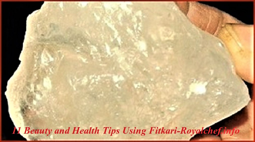 Beauty and Health Tips Using Fitkari