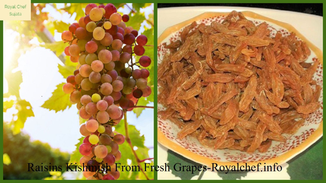 Home Made Raisins Kishmish From Fresh Grapes