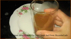 Kadha Traditional Home Remedy For Cold Cough And Fever