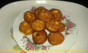 Soft Delicious Sweet Kesari Mango Suji Appe