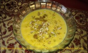 Delicious Konkani Style Rice Or Tandalachi Kheer