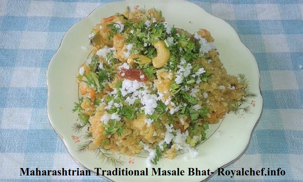 Maharashtrian Traditional Masale Bhat