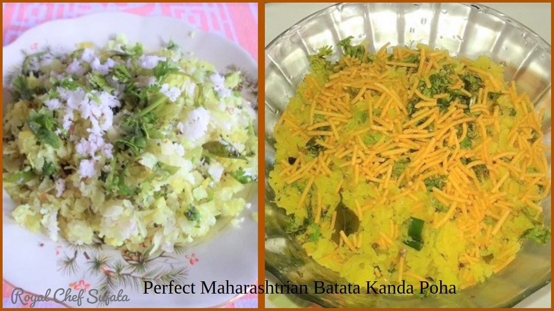 Perfect Maharashtrian Batata Kanda Poha Or Pohe
