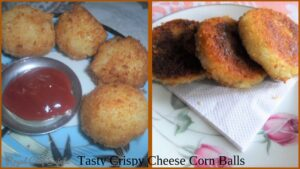 Tasty Crispy Cheese Corn Balls