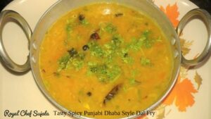 Tasty Spicy Punjabi Dhaba Style Dal Fry
