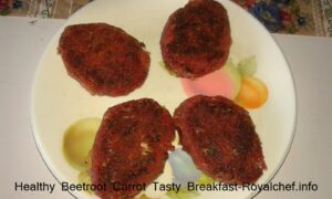 Healthy Beetroot Carrot Tasty Breakfast
